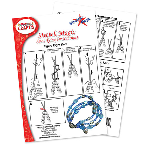 Stretch Magic Knot Tying Basics How To Finish A Project 3 Ways